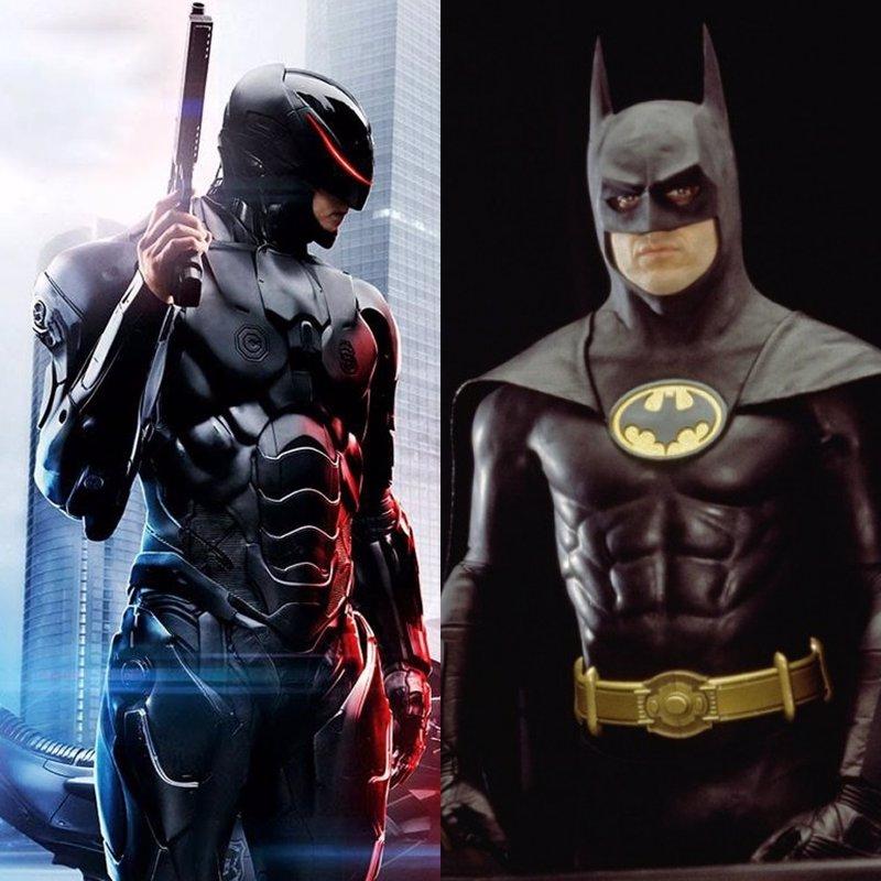Robocop vs. Batman: ¿Quién ganaría?