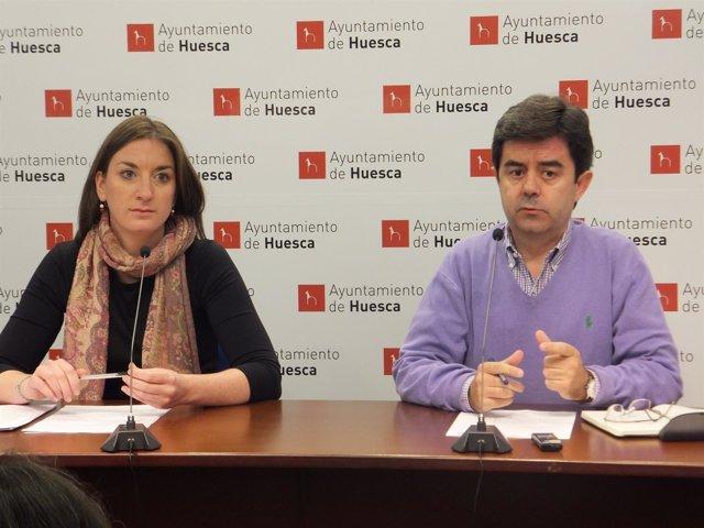 María Rodrigo y Luis Felipe