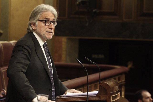 Josep Sánchez Llibre (CiU) en el Congreso