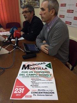 Estévez y Rodríguez en la rueda de prensa