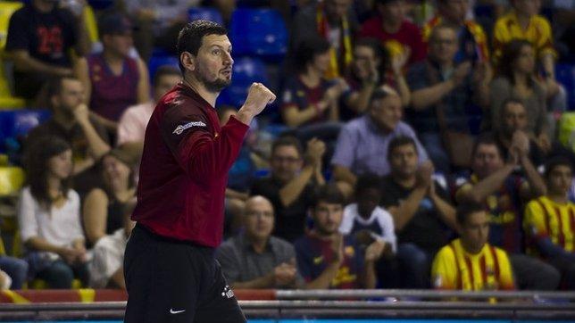 Arpad Sterbik, portero del FC Barcelona