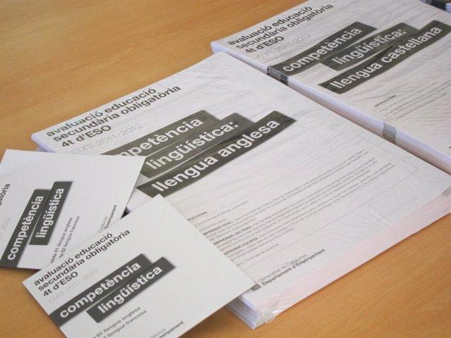 64.000 alumnos catalanes se examinan de las pruebas de cuarto de ESO