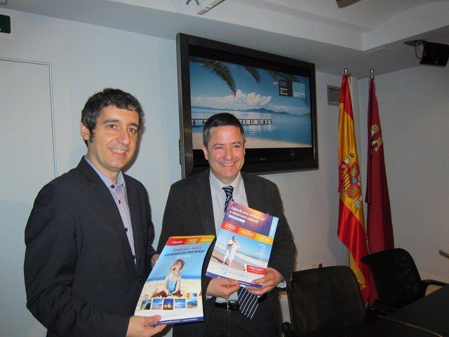 Cruz y Ujaldón, en la rueda de prensa