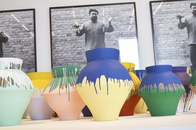Vasijas de Ai Weiwei