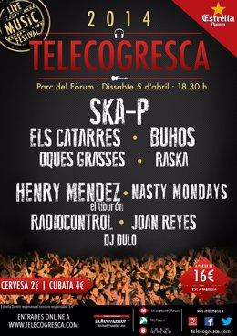 Cartel de la Telecogresca 2014