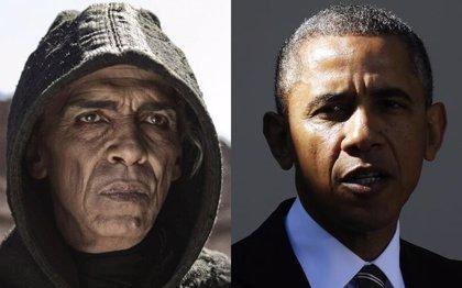 El Satanás idéntico a Obama, censurado en la película de La Biblia