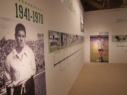 CANTABRIA.-Las peñas inauguran en el Casyc una exposición sobre el centenario del Racing Club