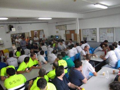 CANTABRIA.-MCA-UGT gana las elecciones sindicales en la fábrica de BSH en Santander, donde logra mayoría absoluta