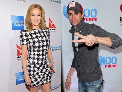 Enrique Iglesias colaborará con Kylie Minogue