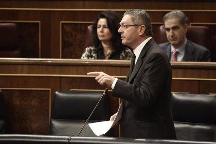 Gallardón recuerda que el PSOE ya cambió justicia universal por diplomacia y decía que era por razones de Estado