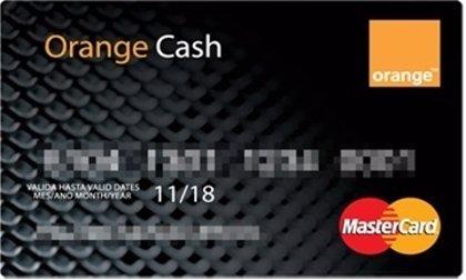Orange lanza una tarjeta MasterCard de prepago recargable en el smartphone