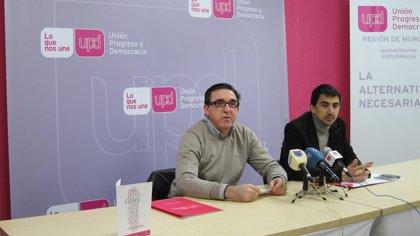 """UPyD critica que el PP no haya sido capaz de """"solucionar los problemas estructurales de la Región tras 18 años de gobier"""