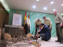 Artes incautadas lucha contra caza ilegal especies malaga