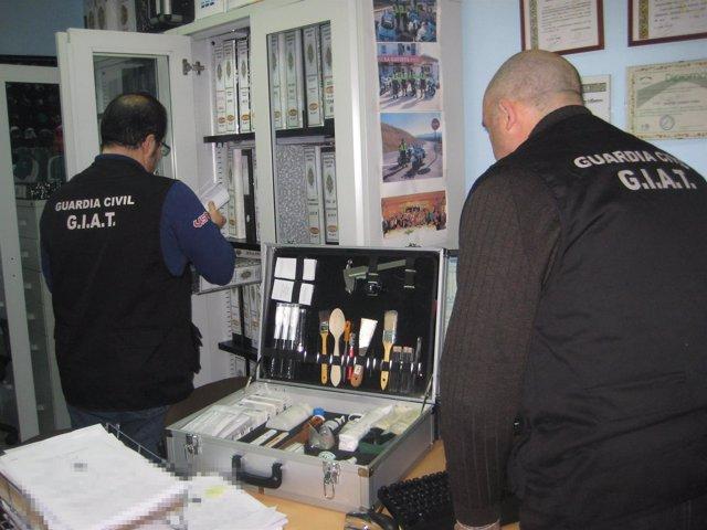 La Guardia Civil detiene a facultativos en Úbeda