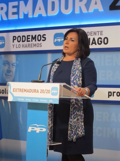 """El PP extremeño acusa al PSOE de ofrecer un panorama """"catastrofista"""""""