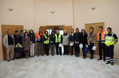Granada.-Sostenible.-Delegación rusa se interesa en mejoras tecnológicas de la planta de residuos sólidos en Alhendín