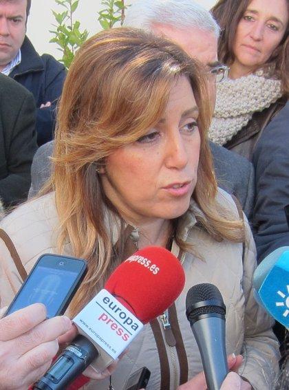 """Díaz insta a """"proteger"""" el modelo de Andalucía, donde """"no se ha abierto la brecha de la desigualdad"""" pese a la crisis"""