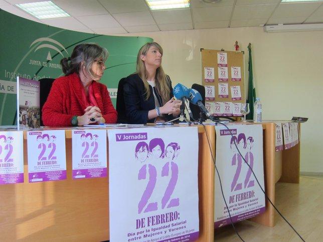 Pastor y Martín Palop reivindican el Día de la Igualdad Salarial