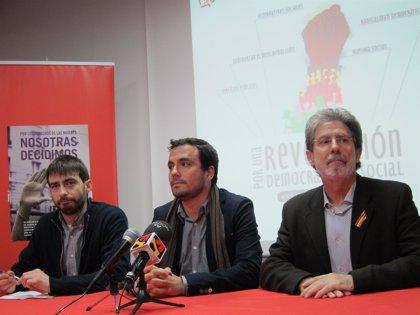 IU emprende en Aragón la campaña 'Revolución democrática y social'