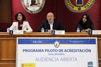 La ANECA evalúa a la UCAM en el primer proceso voluntario de acreditación
