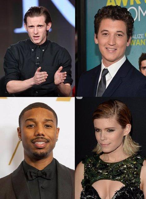 El remake de los 4 fantásticos ya tiene protagonistas