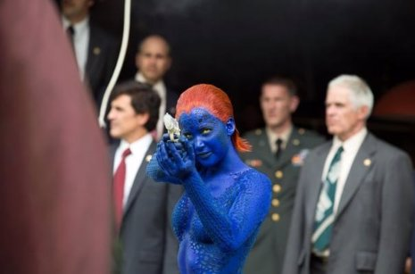 Jennifer Lawrence en X-Men