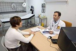 Consulta médica en Pamplona.