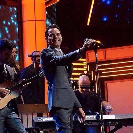 Marc Anthony en los Premios lo Nuestro