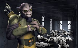 Star Wars Rebels, Zeb