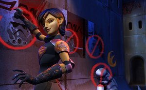 Star Wars Rebels, Sabine