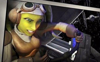 Así son los personajes de Star Wars Rebels