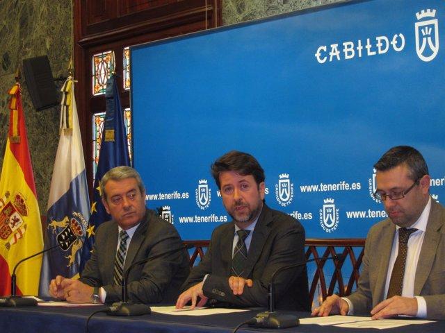 Abreu y Alonso, en rueda de prensa