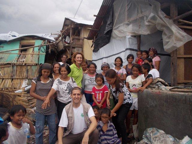 Proyecto de Farmacéuticos Sin Fronteras y Farmacéuticos en Acción en Filipinas
