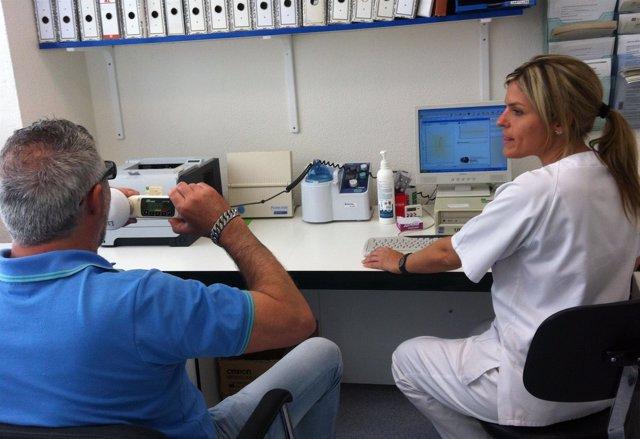 Asma paciente médico medicina bronquios salud sanidad