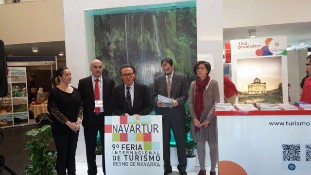 Presentación de Sevilla en Navartur