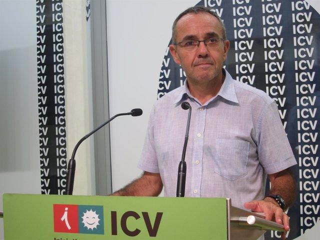 El portavoz de ICV en el Congreso, Joan Coscubiela