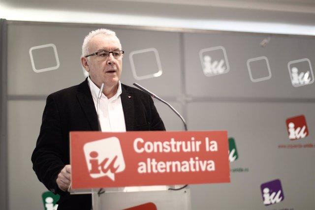 Cayo Lara, coordinador federal del Izquierda Unida