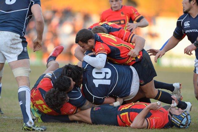 Partido de rugby entre Japón y España