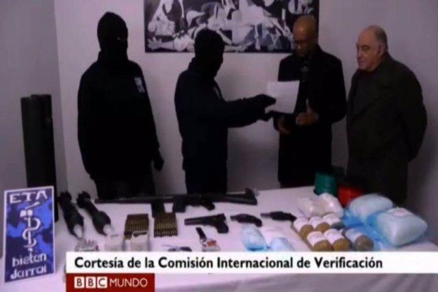 ETA pone fuera de uso una cantidad mínima de armas