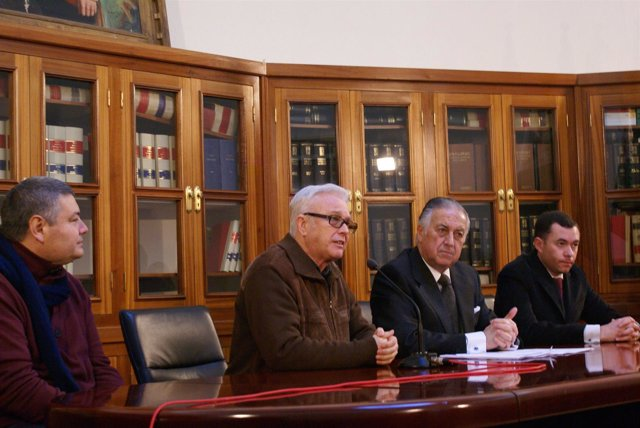 El vicepresidente de la asociación Paz y Bien, Fray Rafael Pozo.