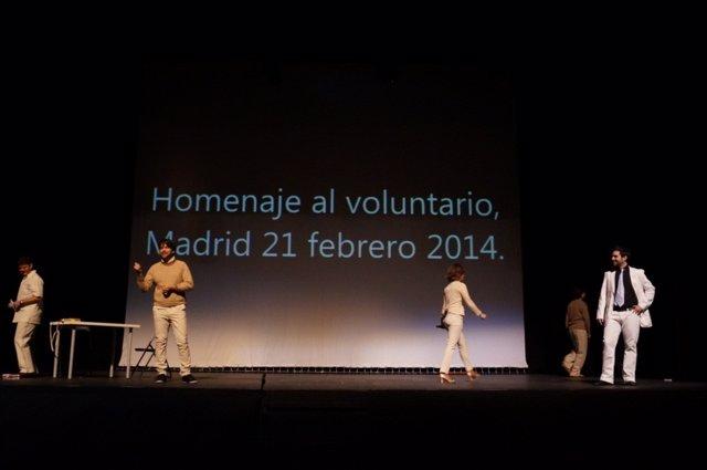 Homenaje al voluntariado