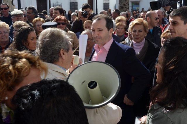 El alcalde de Almonte, José Antonio Domínguez Iglesias.