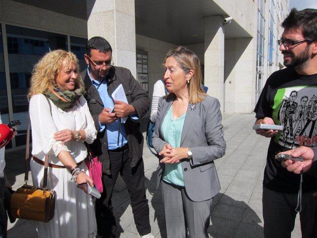 Ana Pastor en Santiago