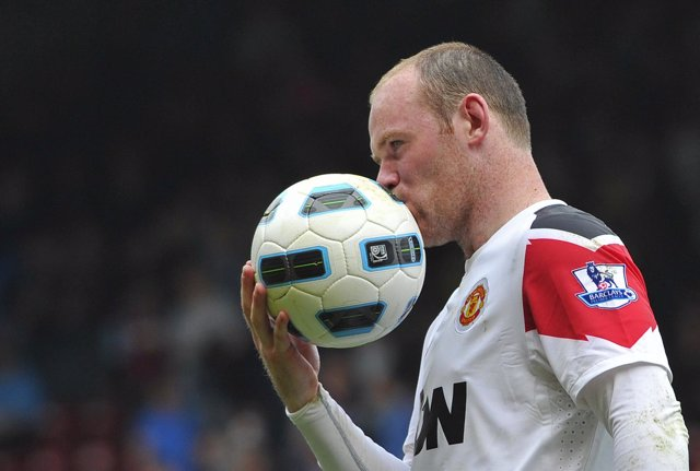 Rooney, del Manchester United