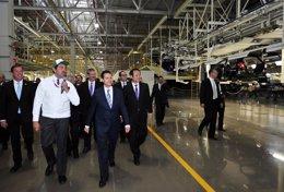 Inauguración de Honda en México