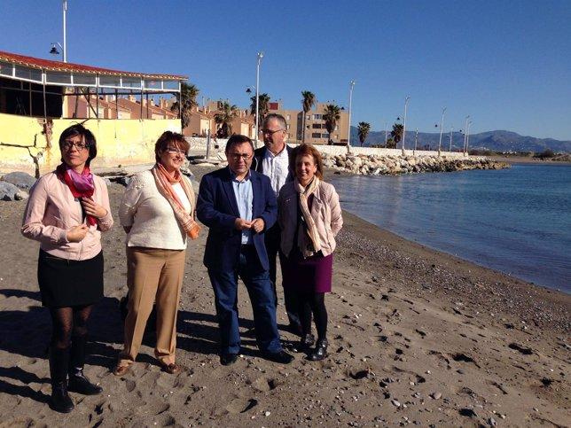 Heredia, Bustinduy y Gámez en Guadalmar
