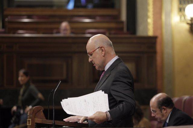 Duran habla en el Pleno del Congreso
