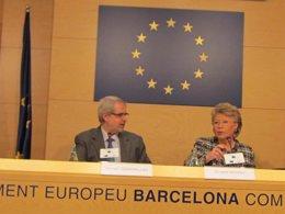 F.Tarradellas y V.Reding (CE)