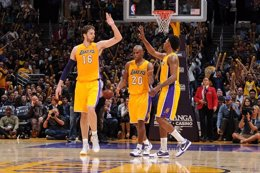 Los Angeles Lakers Utah Jazz Pau Gasol