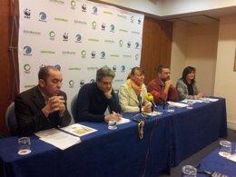 Representantes de las ONG ambientales